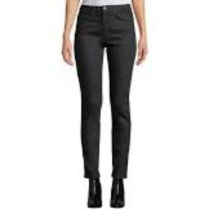 EQUIPMENT | High Rise Skinny Black Jeans